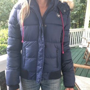 American Eagle puffy coat
